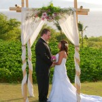 Maui Wedding Ceremony Decor