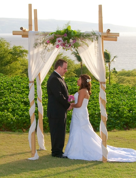 Maui Wedding Ceremony Decor Image 324