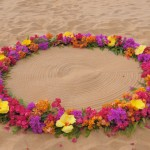 Maui Wedding Flower Circle