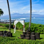 Kapalua Oceanfront Lawn Wedding
